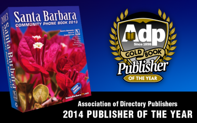 2014 Gold Book Publishers of the Year
